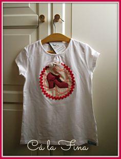 CAMISETAS FLAMENCAS: niñas. #camisetasflamencas #camisetaspersonalizadas #camisetasdecoradas