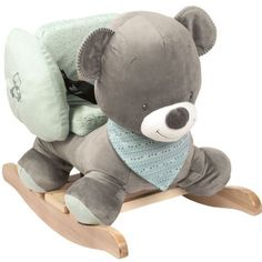 A gorgeous and fun rocker for your toddler to play on. Nattou have taken a traditional toy – the rocking horse – and given it a modern twist. Cute and fun in equal measure. The animal's ears are great for …Read more»