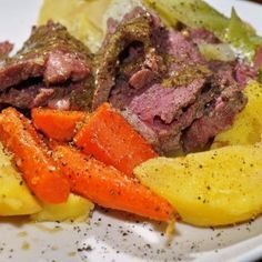 Dijon-Glazed Corned Beef with Savory Cabbage » Michigan Agriculture