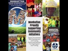Manhattan Proudly Supports community initiatives in the and Johannesburg , small scale mining and other community projects currently b.