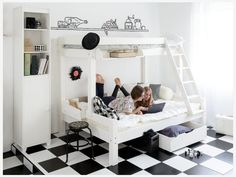 Girl Room, Baby Room, Shared Bedrooms, Lake Cottage, Attic Rooms, Kidsroom, Playroom, Toddler Bed, Ikea