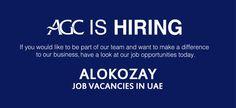 Alokozay Group of Companies (AGC) – Job vacancies in UAE