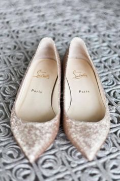 YES YES YES. I love everything bout these. Pointed toes flats and sparkle