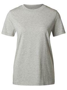 Selected Femme - Regular fit - 100 % Pima-Baumwolle - Rundausschnitt - Naht-Detail am Ärmel und am Saum - Gerippte Kanten - Weiches Handgefühl. T-Shirts in hoher Qualität kannst du nie zu viele haben. Dieses T-Shirt aus Pima-Baumwolle ist sehr weich und haltbar. Pima-Baumwolle gilt als eine der Baumwollmischungen mit der weltweit höchsten Qualität. Durch die langen Fasern erhält man einen halt...