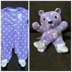 Custom Sleeper Teddy Bear by ImaginationAcresLLC on Etsy