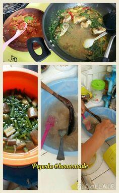 Papeda - traditional food from Maluku, Indonesia Maluku Islands, Traditional, Recipes, Food, Essen, Meals, Ripped Recipes, Yemek, Eten