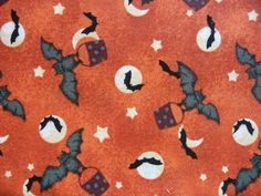 Hey, I found this really awesome Etsy listing at https://www.etsy.com/listing/203027218/halloween-fabric-david-textiles-orange