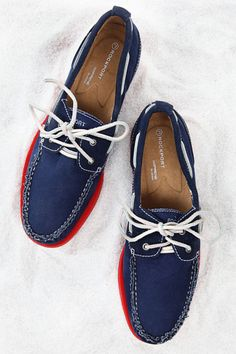 Two-Eye Canvas Boat Shoe by Rockport