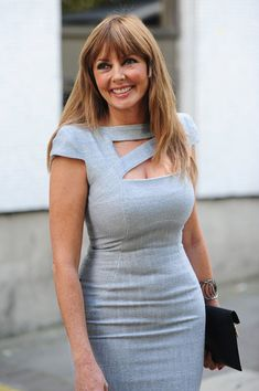 Carol Vorderman Photos Photos: Claire Sweeney seen leaving after recording programs at the ITV Studios in London Sexy Older Women, Sexy Women, Claire Sweeney, Carol Vordeman, Gentleman, Tv Presenters, Curvy Women Fashion, Perfect Woman, Celebs