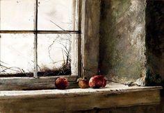 """""""Frost Bitten"""" Andrew Wyeth 1962"""