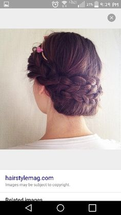 Different braided updo
