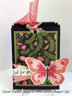 Watercolor Wings & Mini Treat Bag