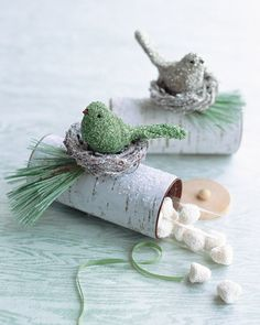 pure and noble: Reduce, Reuse, Recycle: Toilet Paper Rolls - Holiday Edition