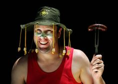 ed93b88fdf0 Actually saw a bloke walking into Coogee Beach on the coast walk with one  of these hats on!