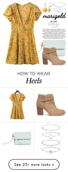 """Marigold 3757"" by boxthoughts on Polyvore featuring Sole Society, Napier and Accessorize"