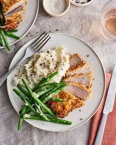 The Absolute Best Way to Cook Crispy, Juicy Pork Chops (Kitchn Tender Pork Chops, Breaded Pork Chops, Air Fryer Dinner Recipes, Air Fryer Recipes, Recipes Dinner, Appetizer Recipes, Dessert Recipes, Appetizers, Desserts