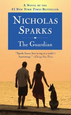 The Guardian by Nicholas Sparks. It is in the fiction section of the DHS Library, F SPA.