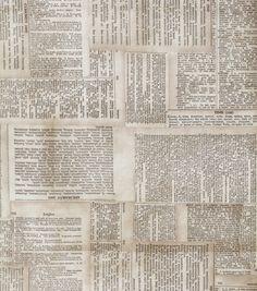 Premium Quilt Fabric-Tim Holtz Dictionary NeutralPremium Quilt Fabric-Tim Holtz Dictionary Neutral,