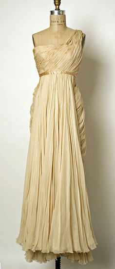 Dress, Evening Jean Dessès