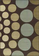 blue\green\brown rug