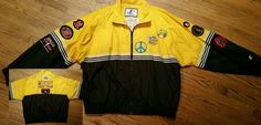 Racing Swingster Nylon Basic Coats & Jackets for Men Patch Jacket Mens, Ncaa Final Four, Chicago Bulls, Mens Xl, Finals, Olympics, Patches, Polo Ralph Lauren, Coat