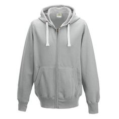 Chunky Zoodie hoodie Colour: Heather Grey Sizes: S, M, L, XL, XXL FABRIC CONTENT: 80% Ringspun Cotton 20% Polyester FABRIC WEIGHT: 400gsm FEATURES: Full zip hoodie, Ear Phone Loops, Hidden Cord Feed Opening, Smartphone Compatible, Tear Away Label, Worldwide Responsible Accredited Production (WRAP) certified production, Side panels for stylish fit, Overlock stitching detail throughout, Double fabric hood with heather grey waffle fabric inner, Kangaroo pouch pocket and more.