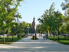 Krasnodar: Catherine the Great on another beautiful day