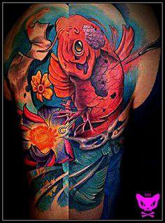 #tattoo #tattoos #tattooartist #tattooart #tattooartwork #tattoofamily #tatuaje #tatuajes #tatuagem #newschooltattoos #realistictattoos #neotraditional #traditionaltattoos #neotraditionaltattoos #freehandtattoos #tattoolife #tattooed #ink #inkstagram #cancadaver #bonitocadaver #boniccadavertattoo #calella #maresme #barcelona #barcelonatattoo #km666