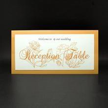 Catherine reception table card Reception Table, Table Cards, Orange, Decor, Decorating, Inredning, Interior Decorating, Deck, Dekoration