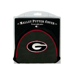 NCAA Georgia Mallet Putter Cover by Team Golf. $14.95. Velcro closure. 2 location embroidery includes both logo and wordmark. Easily slips on and off the putter. Fits most mallet putters. Made with Buffalo Vinyl and Polyester Knit. Protect your putter while supporting your favorite collegiate team with this officially licensed NCAA® mallet putter cover from Team Golf. The cover fits most mallet putters and includes a fleece lining for extra club protection. A...
