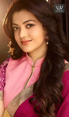 Beautiful Kajal Aggarwal is a Mumbai based south Indian model and film Actress, who appears in Telugu, Tamil and Hindi films. Beautiful Girl Indian, Most Beautiful Indian Actress, Beautiful Girl Image, Beautiful People, Indian Celebrities, Beautiful Celebrities, Beautiful Actresses, Bollywood Celebrities, Beauty Full Girl