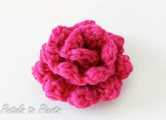 Petals to Picots Crochet: Rose - Free Pattern