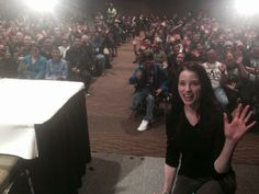 Rachel Nichols of Continuum at Emerald City Comic Con - March 30, 2014 (via @callahanlee on Twitter)
