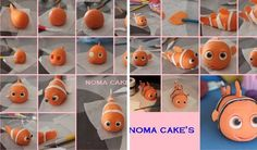 Finding Nemo Cake Tutorial