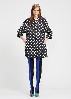 marimekko jacket! Love the Color blocked slacks! <3