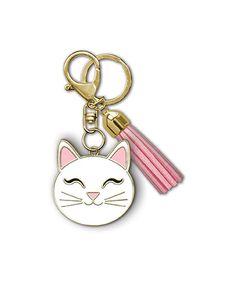 Cat Enamel Keychain - comes with a key ring, lobster clasp and coordinating tassel. Width range: - Height range: - Tassel size: by Lady Jayne Cat Lover Gifts, Cat Gifts, Cat Lovers, Lobster Clasp, Key Rings, Tassels, Size 2, Enamel, Range