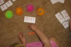 The Homeschool Den: More Math Addition Activities -- 2