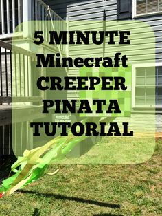 Shipwrecked on Fabulous Island: Minecraft Party - The Piñata