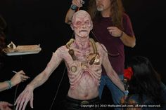 Monsterpalooza 2012 makeup effects on site