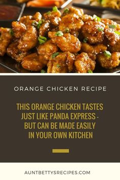 Orange Chicken Recipe - You Can't Beat This —Trust Us! This Orange Chicken Tastes Just Like Panda Express - But Can Be Made Easily In Your Own Kitchen