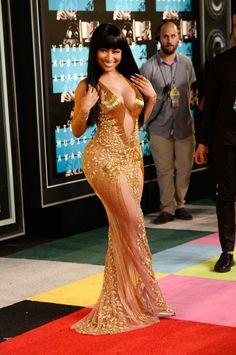 dressed to impress, celebritiesofcolor:   Nicki Minaj  attends the...