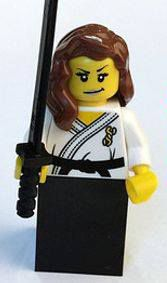 Aikido Girl LEGO