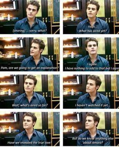 Paul Wesley being funny asf during interviews! | Vampire ...