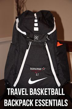 2dc3a6b12afb Confessions of a Sports Mama  Sports Mama Tip  Travel Basketball Backpack  Essent.