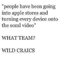 Hahaha! Wild craics! Love this!