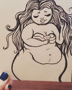 Fat mermaids are kinda my favourite thing ❤️