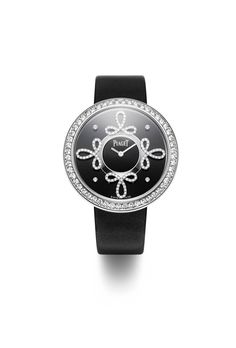 Limelight Dancing Light in white gold set with 206 brilliant-cut diamonds.  Black dial 7234dc55fe88