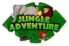 Jungle Adventure Kids Club Logo 2 by rygle