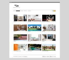 Desarrollo del sitio web 2 Arquitectos.