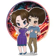 Nancy and Jonathan (Stranger Things 3) by nebraskabymelissa on DeviantArt